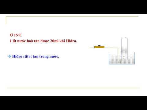 Hóa 8 - Bài 31. Tính chất ứng dụng của Hidro