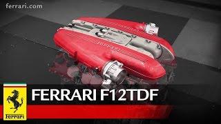 Ferrari F12tdf - Focus on powertrain
