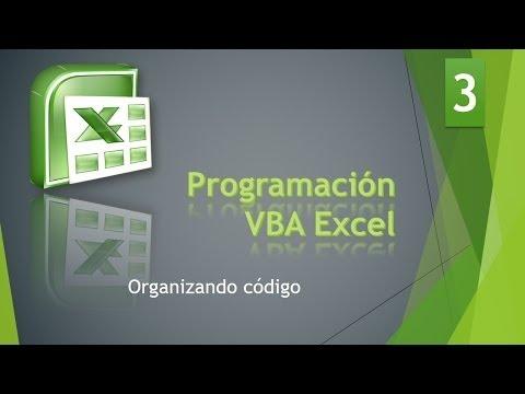 Curso VBA Excel. Tipos y variables. Vídeo 4