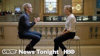 AppleCEOTimCook:TheVICENewsTonightInterviewHBO