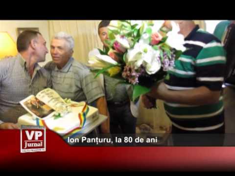 Ion Panțuru, la 80 de ani