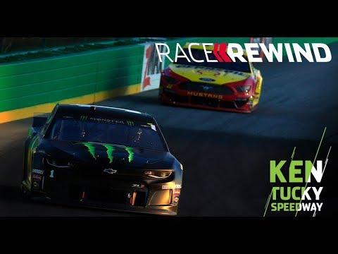 NASCAR クエーカー・ステート400ハイライト動画