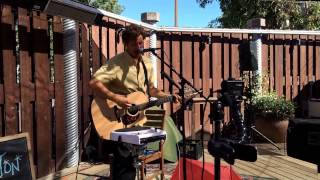 Matt Bolton performing at #Petaluma's Lagunitas Brewing Company's Taproom