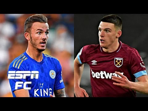 James Maddison and Declan Rice destined to join Manchester United in January? | Transfer Rater