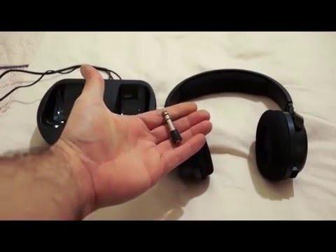 Thomson WHP3001BK Wireless Headphones - Review