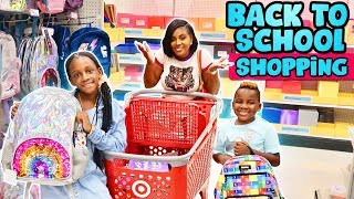 Back to School Shopping Family Vlog