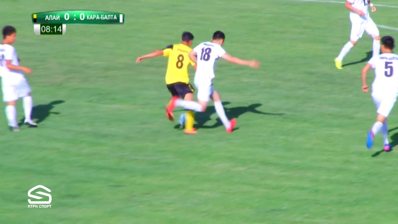Топ-Лига-2017. Матч#30 Алай – Кара-Балта 4:2