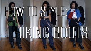 How To Style: Hiking Boots | Sharena Chindavong