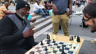 Beating a Union Square Chess Hustler: Achievement Unlocked