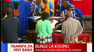 Bunge la Kisumu: Onyango Oloo Kuchaguliwa kama spika