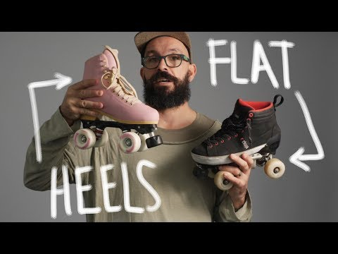 HEELS  or FLAT? What roller skates should you choose?