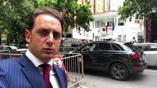 Fabio Vicenzi Deputado Itália 2018 | Fabio Vicenzi na inauguração do Consulado Italiano de Belo Horizonte
