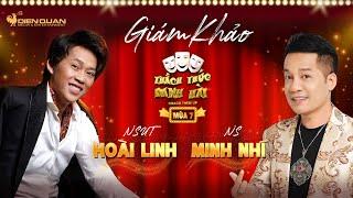 Thách thức danh hài 7 | NSƯT Hoài Linh, Minh Nhí chính thức ngồi ghế giám khảo, hứa hẹn đầy bùng nổ