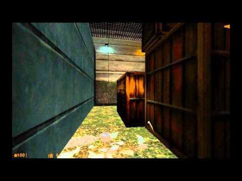 Half-Life - Star Wars style trash compactor escape