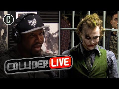 Michael Jai White Talks About How Heath Ledger Was On Set of The Dark Knight