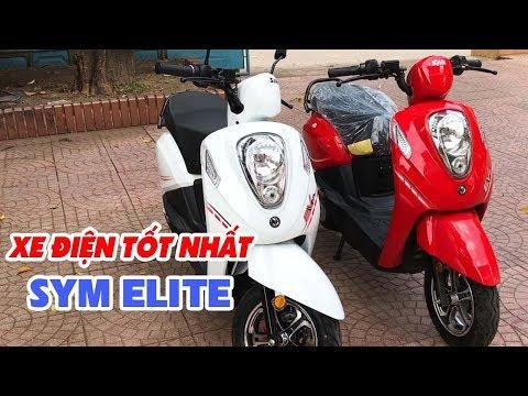 Tuấn trung tá đánh giá xe máy điện SYM EV Elite