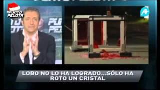 Lobo Carrasco acepta el reto y emula a Cristiano Ronaldo - Punto Pelota