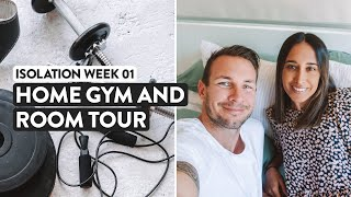 7 Days Of Lockdown   Our Quarantine Tour & Home Gym Workout
