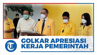 Indonesia Akhirnya Keluar dari Resesi Ekonomi, Golkar Beri Apresiasi Kinerja Pemerintahan Jokowi