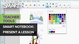How to use Notebook presentation tools