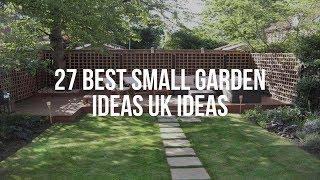 🔴 27 Best SMALL GARDEN IDEAS UK Ideas