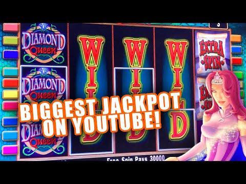4 MASSIVE DIAMOND QUEEN JACKPOTS! ★ HIGH LIMIT $50 BETS ➜ HAND PAY ALERT!