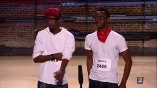 Damon Bellmon  Deon Lewis   Atlanta Auditions   So You Think You Can Dance