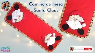 Camino de Mesa con Santa Claus