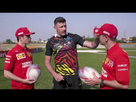 Seb & Charles Episode 3: Formula 1 meets Rugby