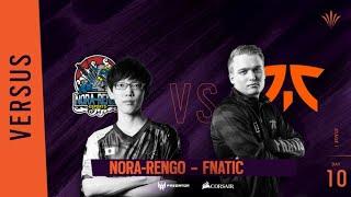 Fnatic vs Nora-Rengo // Rainbow Six APAC North Division - Playday #10