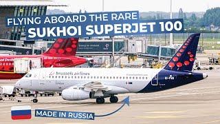 TRIPREPORT | Brussels Airlines (ECONOMY) | Sukhoi Superjet 100 | Brussels - Vienna