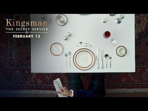 Kingsman: The Secret Service (Viral Clip 'Dinner Etiquette')