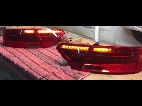 Audi A5 Dynamischer Blinker / Dynamic blinker Taillights