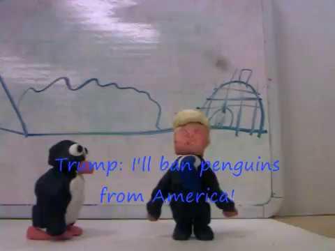 Pingu VS Donald Trump by Thomas