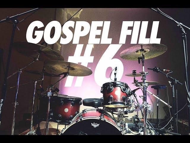 Gospel Drum Fill #6 // Daniel Bernard