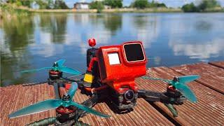Cinematic Drone Racing & Proximity Freestyle - FalcoX   GoPro Hero 7