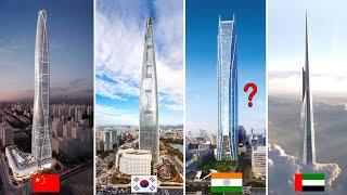 इस इमारत को देखने के बाद आपको लगेगा ये सपना है या हकीकत // TOP 10 Tallest Buildings In the WORLD