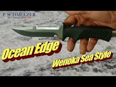 Tauchermesser Ocean Edge Wenoka  Sea Style