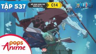 One Piece Tập 537 - Bảo Vệ Shirahoshi. Cuộc Bám Đuổi Của Decken - Đảo Hải Tặc