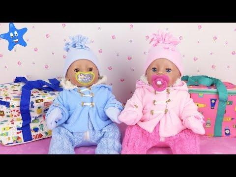 Qué llevar en la pañalera de INVIERNO Baby Born en español Bruno y Abril