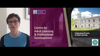 Part Time Courses and Professional Development at NUI Galway