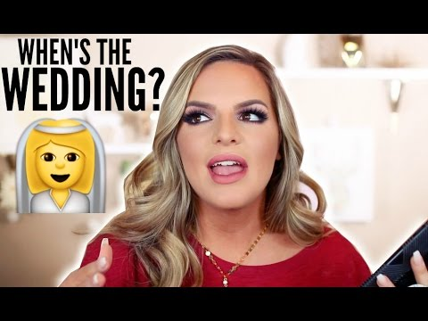 WHEN'S THE WEDDING??  | Casey Holmes
