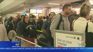 Travel Rush Ahead Of Thanksgiving 2019 Underway At Bay Area Airports