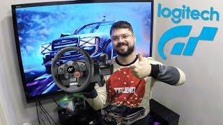 Обзор лучшего бюджетного игрового руля - Logitech Driving Force GT  для ПК PS3 PS4
