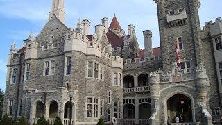 Jaw Dropping 3.5 Million Dollar Castle; Casa Loma- Toronto,Ontario,Canada -Spectacular Detailed Tour