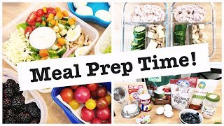 Meal Prep with Me! // Healthy & Keto Friendly Meal Prep // Low Carb Meal Prep