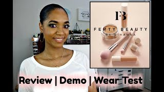 *NEW* FENTY BEAUTY Concealer | Foundation | Setting Powder 💔 Demo, Wear Test and REVIEW ❤