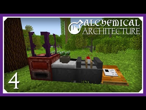 Alchemical Architecture | Starting Evilcraft & Mystcraft! | E04 (Magic Modpack Lets Play)