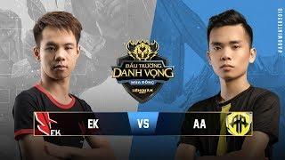 ESPORTS KINGDOM vs TAMAGO AA [Vòng 2][08.09.2018] - Đấu Trường Danh Vọng mùa Đông 2018
