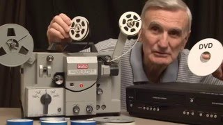 How to transfer older 8mm home movie film to DVD